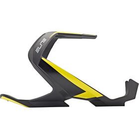 Elite Vico Bidonhouder Carbon, zwart/geel